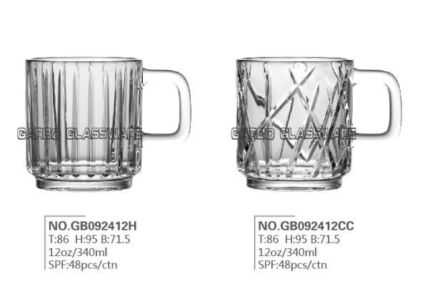 Promotion for Garbo OEM New Design Glass Mugs