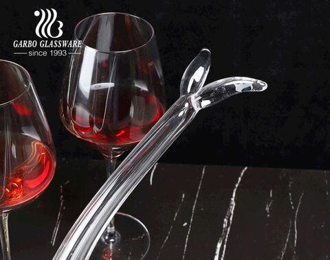 Bình chiết thủy tinh thủ công chất lượng cao 900ml độc đáo hình nàng tiên cá Bình đựng rượu carafe