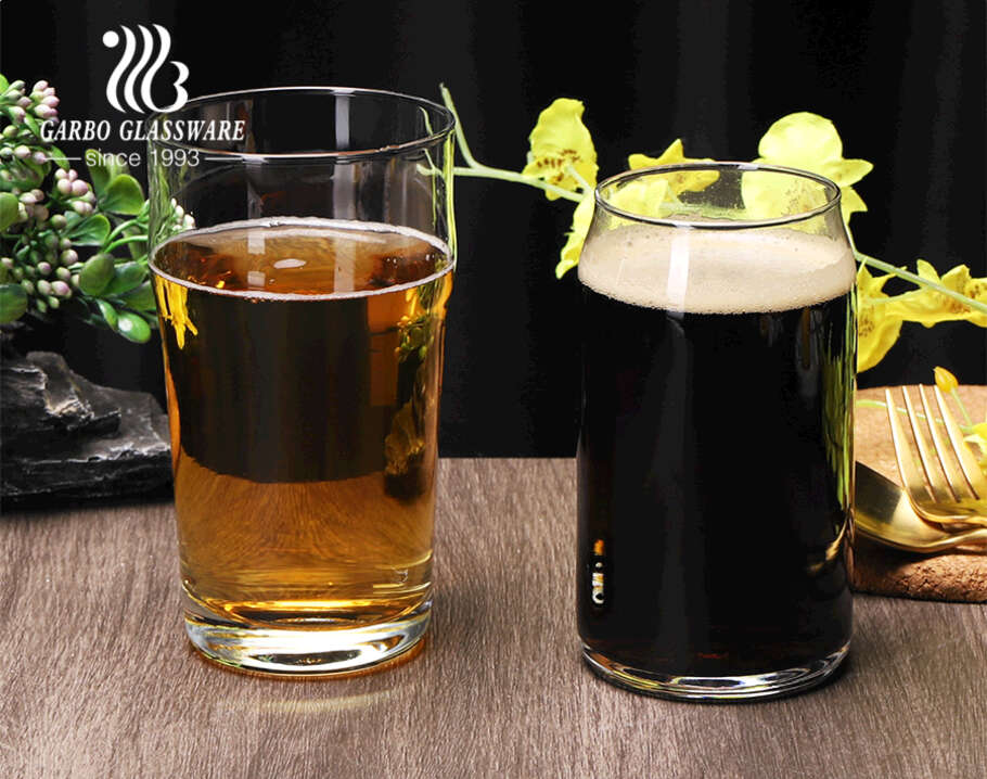 Multi sizes can shape stout beer glass cup with massive production