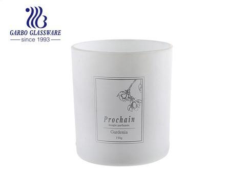 Winpack Silk Printing custom glass candle jar bottle holder customized logo