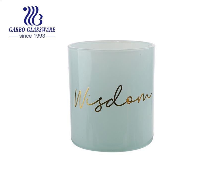 Glass Wedding Music bar Nordic Jar Cylinder Votive Decorative Candle Holder