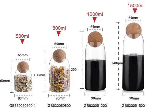 عروض Garbo الأسبوعية: جرة تخزين زجاجية من البورسليكات