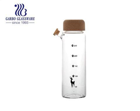 Chai đựng nước thủy tinh di động 300ml borosilicate thủy tinh cho Olivia Oil Vinegar Cruet